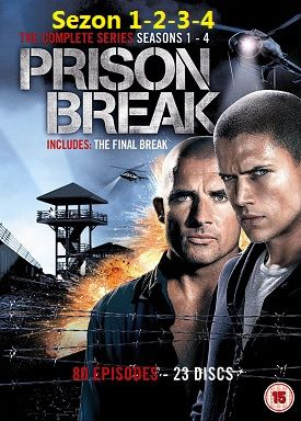Prison Break | Sezon 1-2-3-4 | HDTV XviD | Türkçe Dublaj
