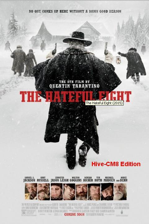 The Hateful Eight 2015 DVDScr XVID AC3 HQ Hive-CM8  2.4 GB