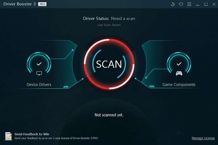 برنامج لتحديث تعريفات جهازك وتنزيلها IObit Driver Booster Pro 3.0.3.262